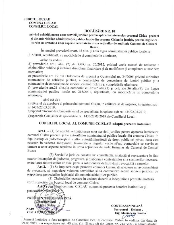 achizitionare servicii juridice martie 2019 001