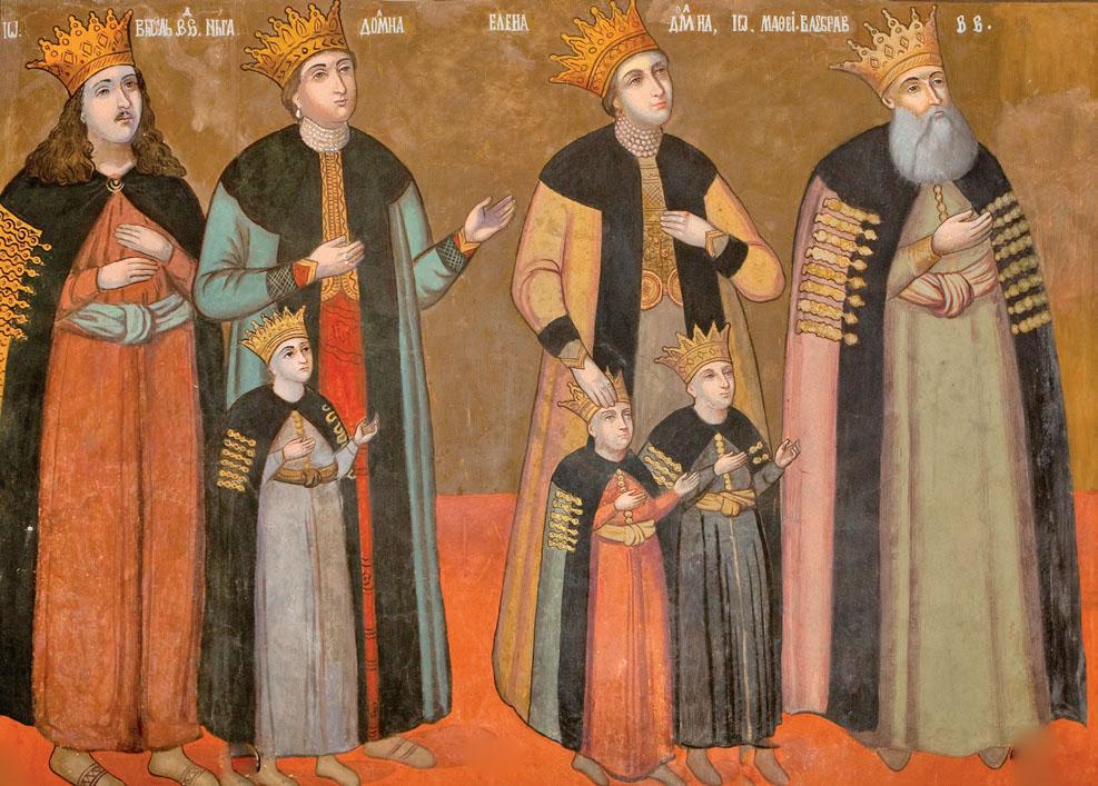 Ctitorii Catedralei «Adormirea Maicii Domnului» din Buzău – pictură în lăcaşul de cult